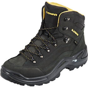 Lowa Renegade GTX Mid Shoes Men, anthracite/mustard
